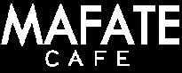 mafate logo script white